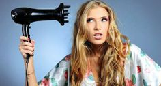 Blow dry your hair like a pro !