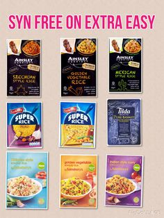 Syn- Free Savoury Rice on Slimming World Extra Easy astuce recette minceur girl world world recipes world snacks Slimming World Syn Values, Slimming World Dinners, Slimming World Recipes Syn Free, My Slimming World, Aldi Slimming World Syns, Slimming World Recipes Extra Easy, Slimming Eats, Sliming World, Savory Rice