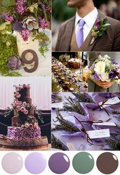wedding-color-palette-lavender-moss-chocolate