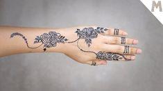 Short Mehndi Design, New Henna Designs, Indian Henna Designs, Stylish Mehndi Designs, Full Hand Mehndi Designs, Mehndi Designs For Beginners, Beautiful Henna Designs, Simple Henna Tattoo, Mehndi Simple