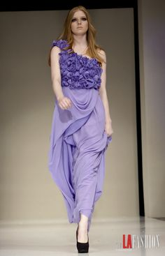 G Marie 2012 collection showcased @ The Avalon in Hollywood LAFW '12