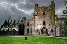Leap Castle in County Offaly, Ireland. Well known for being haunted. - I MUST VISIT!