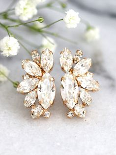 Check out this item in my Etsy shop https://www.etsy.com/il-en/listing/493502770/bridal-earrings-bridal-crystal-earrings