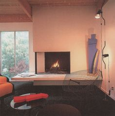 interior Light: The Complete Book Of Lighting Design - 1986 80s Interior Design, 1980s Interior, Interior Decorating, Exterior Design, Diy Zimmer, Vintage Interiors, Retro Home Decor, Decoration, Interior Architecture