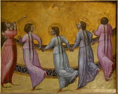 Five Dancing Angels - Giovanni di Paolo - The Athenaeum