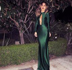 El color perfecto para un vestido.