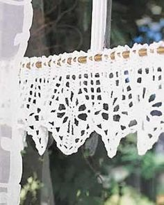 Crochet Valance pattern, these are really easy to do up. by shelia