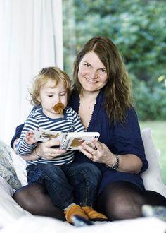 Anne-Dorthe Schroeder, the mom behind Natursutten.