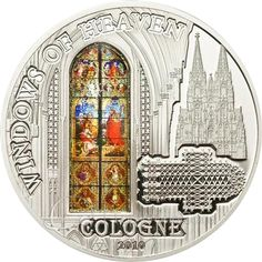 Cook Islands 2010 10$ Cologne Windows of Heaven Proof Silver Coin :: Top World Coins