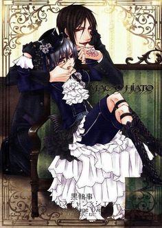 ciel n Sebastian #black butler/kuroshutsuji