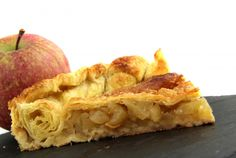 Croustade aux pommes du Tarn French Food, Apple Pie, Sweet Recipes, Macaroni And Cheese, Cheesecake, Good Food, Sweets, Fruit, Cooking