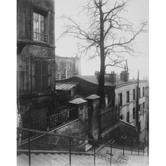 Paris, 1921 - Staircase, Montmartre by Eugene Atget Architecture Art Print