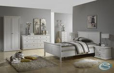 The simplistic design and choice of clean melamine finish make this Tvilum Maison Park Queen Panel Bed a brilliant way to revamp any bedroom. Queen Bedroom, Queen Bedding Sets, Bedroom Sets, Master Bedroom, Parks Furniture, Queen Platform Bed, White Bedroom Furniture, Wood Bedroom, Dorm Rooms