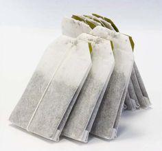 placer un sachet de thé dans un sac à linge ou à chaussure pour supprimer les mauvaises odeurs ....