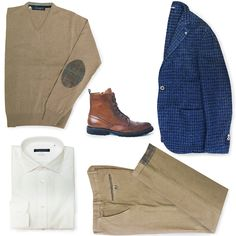 FW Essentials by Angelo Nardelli -Look of the Weekend ------------------------------- -> bit.ly/ANStoreOnline  #jackets #sweaters #shirts #trousers #shoes