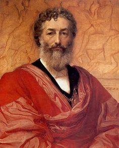 Self-portrait, Frederick Leighton, (1830 - 1896)