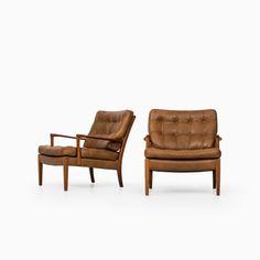 Arne Norell easy chairs model Löven at Studio Schalling