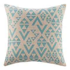 "18"" Novlety Geometric  Triangled Pattern Cotton Linen Decorative Pillow Cover – AUD $ 23.60"
