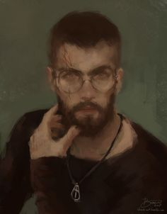 Auror Potter - art of Bianca R. Pinned by @lilyriverside