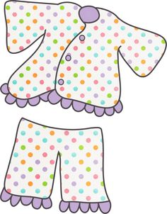 """Photo from album """"PJ Party on Yandex. Jairus Daughter, Baby Girl Clipart, Pajama Day, Pj Party, Quiet Book Patterns, Girls Weekend, Slumber Parties, Games For Kids, Teaching Kids"""