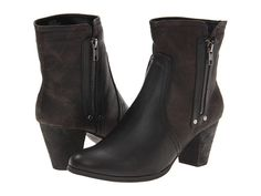 Gabriella Rocha Two Tone Booties Black