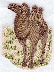 Machine Embroidery Designs at Embroidery Library! - Camels