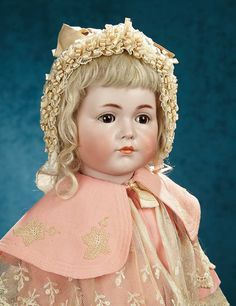 """German Bisque """"Mein Liebling"""", Model 117, Kammer and Reinhardt, for English MarketForever Young - Marquis Antique Doll Auction 