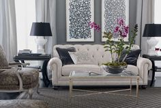 Living Room | Shop by Room | Ethan Allen, color scheme for a modern but class townhome