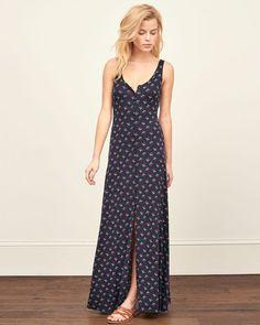 Womens Button Down Maxi Dress