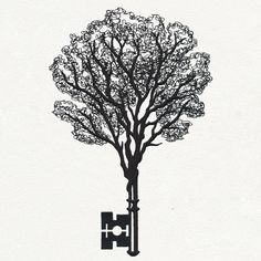 Key Tree design (UT17725) from UrbanThreads.com
