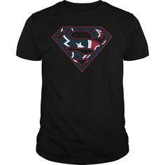 Houston Texans Superman Logo Shirt