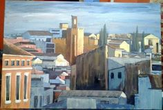 Badajoz. Acrílico by Pepa Polo