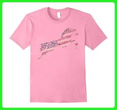 Mens Hand Drawn American Flag Patriotic Horse Lovers T-Shirt Small Pink - Animal shirts (*Amazon Partner-Link)