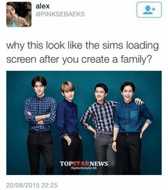 Sims: Korean Expansion Pack OMFG I WANT TO PLAY SIMS AND MAKE THIS FAMILY SO BAD!!! IM GONNA