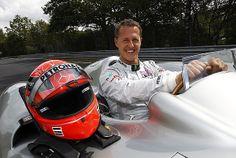 Die Fans sind im Gedanken bei Michael Schumacher