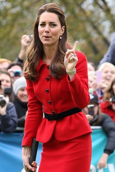 Kate Middleton Funny Faces - Kate Middleton's Finest Faces of 2014 - Elle