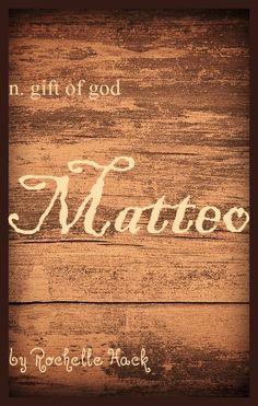 Baby Boy Name: Matteo (muh-tayo). Meaning: Gift of God. Origin: Greek; Hebrew; Spanish; Italian. https://www.pinterest.com/vintagedaydream/baby-names/
