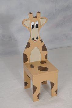 iChart Дети Жираф стул - Детская мебель