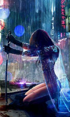 Tagged with art, cyberpunk; Shared by Cyberpunk art dump Arte Cyberpunk, Cyberpunk 2077, Cyberpunk Anime, Cyberpunk Fashion, Art Manga, Art Anime, Manga Anime, Cool Animes, Shadowrun