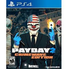 Payday 2 Crimewave Ps4