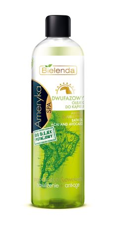 Bielenda AMERICA double-phase bath oil 400 ml Anti Aging, Shampoo, Personal Care, Bath, America, Cosmetics, Oil, Bottle, Self Care