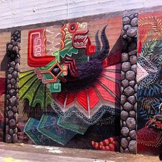 portland street art | Curiot New Mural - Portland, Oregon
