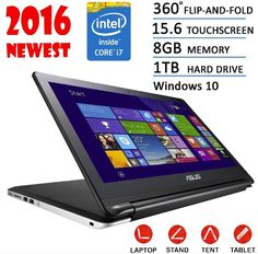 Asus 15.6 Flagship 2016 Edition Transformer Flip 2-in-1 Touchscreen Tablet La... #Asus