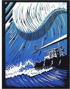 "john severson watercolor | John Severson Block Prints ""SURF PIONEERS"". - WOODSTOCKSHOP"