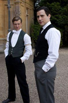 Kent & Barrow (Downton Abbey, S4)
