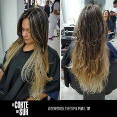 #Colorimetría  Un lindo #Balayage siempre será un hermoso #Look para tu cabello largo.   Este excelente trabajo es realizado por nuestro estilista profesional Fabian Villamizar.  Separa tu cita en nuestro PBX: 5522309.  ¡Tenemos tiempo para ti!