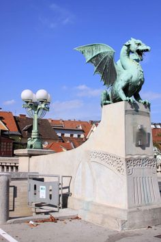 Ljubljana, Slovenia (August 2010) - The Ljubljana Dragon is the symbol of this dynamic city. Ljubljana will always have a special place in my heart thanks to the kindness and hospitality of its people.
