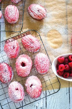 Treat of the Week: Raspberry Lime Madeleines