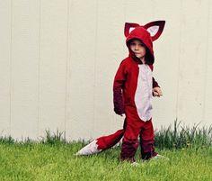 Woodland Animal Costume: fox, wolf, bear See, save, sew. so cute