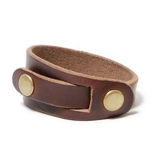 Chromexcel® Leather Bracelet by HORWEEN